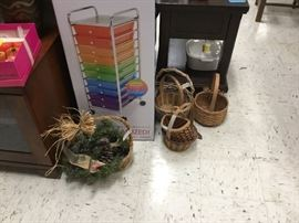 Baskets and storage item