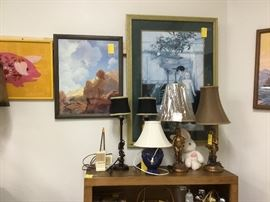 Miscellaneous items  & Lamps