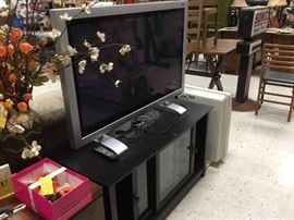 """42""""  TV  and TV stand"""