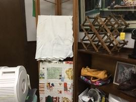 Quilts, linens and purses