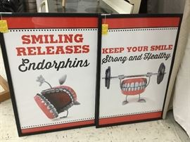 How about some more dental posters?