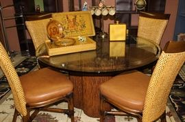 Palacek table and c hairs