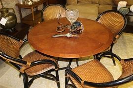 Baker table and chairs