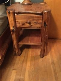 MATCHING BEDSIDE TABLE ALSO AVAILABLE FOR EARLY SALE. $300.00.