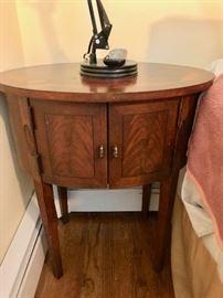 2-Door Oval Cabinet