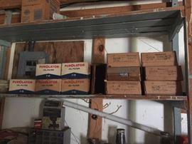 vintage PurOlators in their original boxes