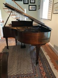 Brambach Baby Grand Piano. Can  be sold prior to sale! Clients mover will move piano to ground level. $1800