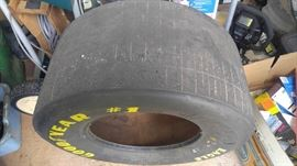 Rusty Wallace's tire