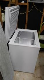 New small chest freezer
