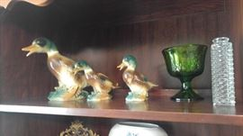 Pottery Ducks
