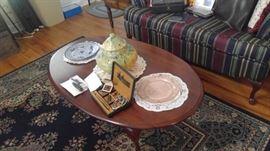 Queen Ann coffee table & sofa