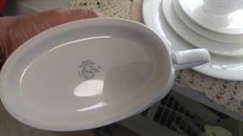 Set of beautiful white lenox china