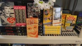 Complete collection of I Love Lucy VHS