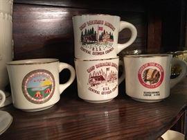 Vintage Boy Scout Souvenir Mugs 1960-70's