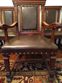 Here's the Big Daddy chair for the MASTER of your tract home.