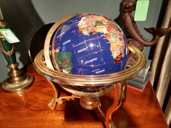 Ah, yes, the gemstone globe that everyone who visited China during certain years and couldn't wait to bring back home to friends and foes.