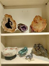 More minerals.