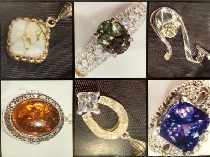 Some of the precious stones that will be here.