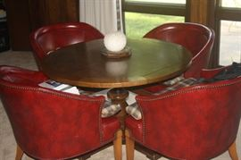 GREAT TABLE WITH 4 CHAIRS. USE YOU EATING OR PLAYING CARDS