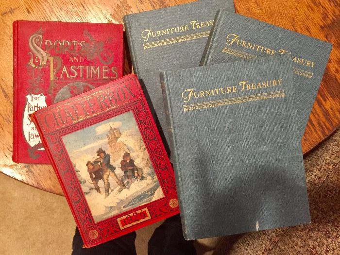 Antique and children's book collection