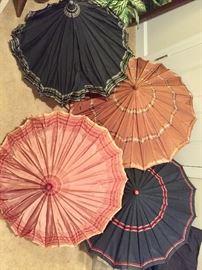 Vintage umbrellas - Bakelite handles