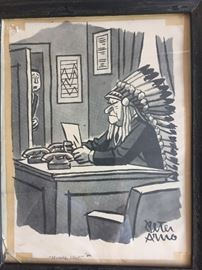 Peter Arno cartoon