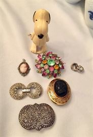 Pins, Snoopy, Cameos and fur clips