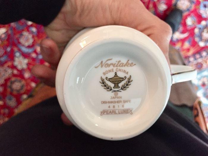 Noritake Pearl Luxe