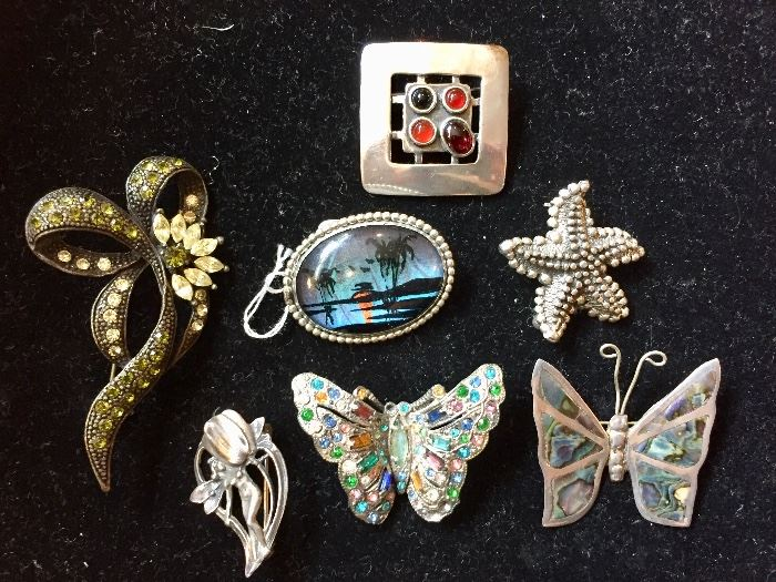 Butterfly costume jewelry