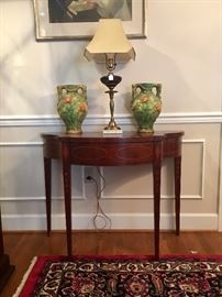 Baker inlay entry table