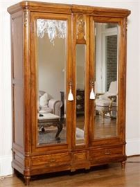 19th c French Armoire