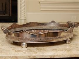 20th c Silverplate Serving Tray