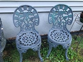 Outdoor Iron Chairs