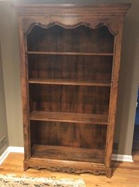 Large Intricate Carved Book Case