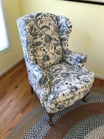 Wingback Chair $ 90.00
