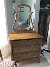 Antique Dresser / Mirror $ 280.00