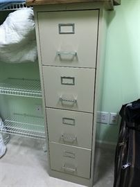 4 Drawer File Cabinet $ 50.00