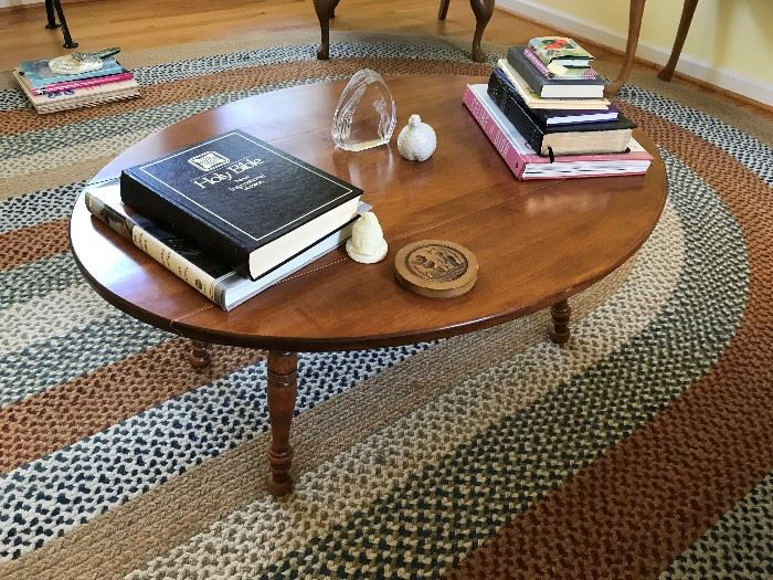 Oval Coffee Table $ 60.00