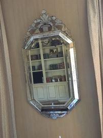 Murano mirror.