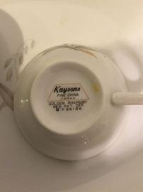 Kaysons fine China