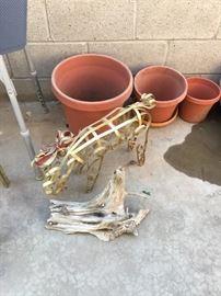 Reindeer ornamental for yard