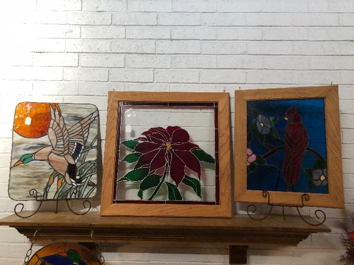 Stained glass art assortment
