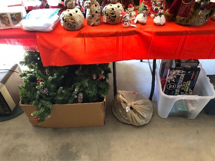 Christmas items, indoor/outdoor lights