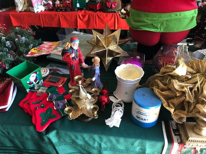 misc Christmas items