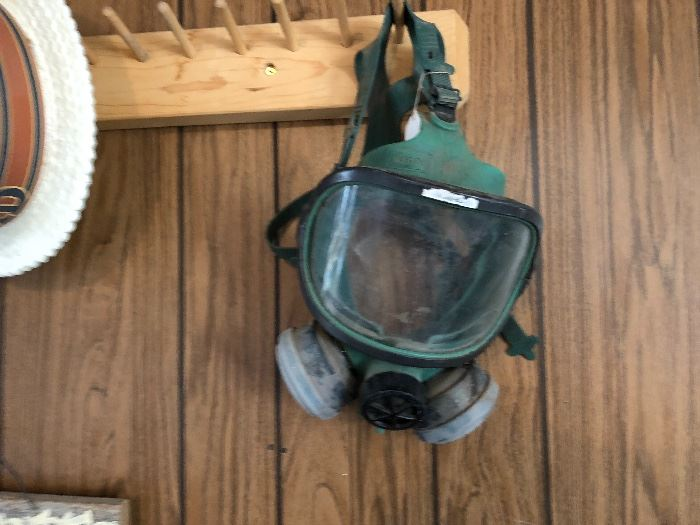 Perfect for Halloween! gas mask