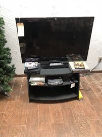 40 inch Toshiba TV,DVD players, TV stand