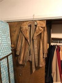 Nice fur-lined jacket