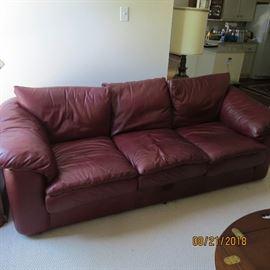 Leather Sofa   $375