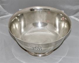 Paul Revere Solid Sterling Bowl (24 troy oz)