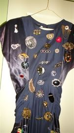 Costume Jewelry, Brooches, Pins